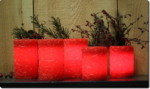 Embossed Pillar Set
