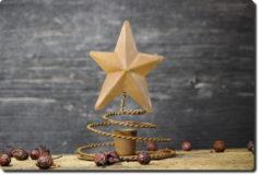 Star Taper Holder-Rust