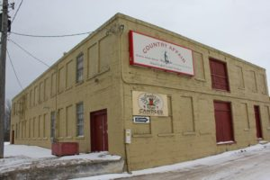 "Meaford's ""Candle Factory"" warehouse"